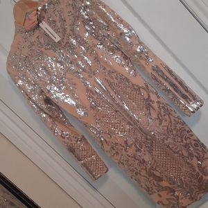 CBR sequin bodycon dress